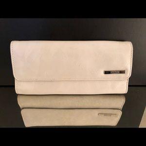 White Folder Wallet/Clutch